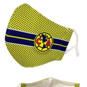 Club America Aguilas Official Face Mask